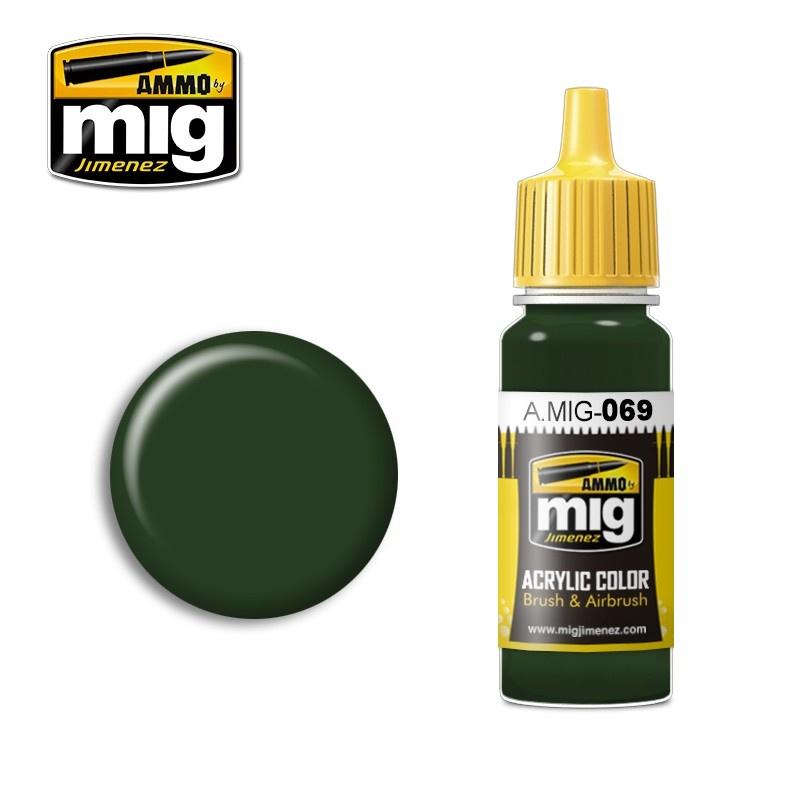 Ammo by Mig Jimenez Blue Green - 17ml - A.MIG-0069