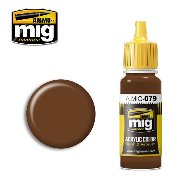Ammo by Mig Jimenez Clay Brown - 17ml - A.MIG-0079