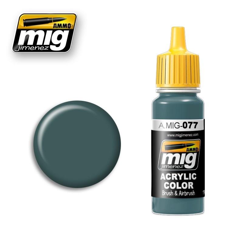 Ammo by Mig Jimenez Dull Green - 17ml - A.MIG-0077