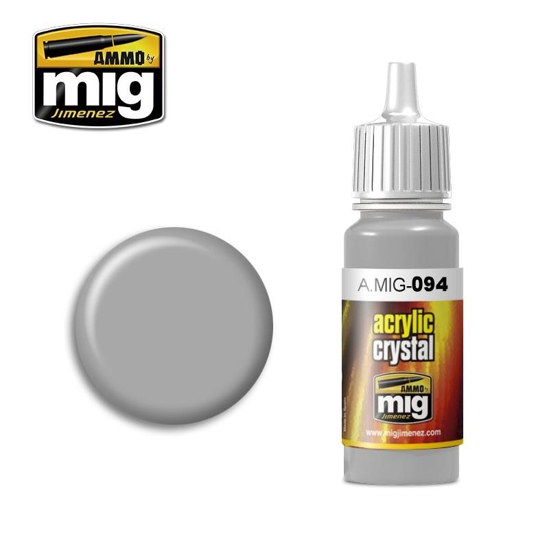 Ammo by Mig Jimenez Crystal Acrylics - Crystal Glass - 17ml - A.MIG-0094