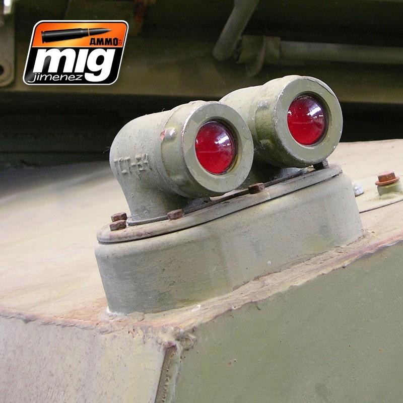 Ammo by Mig Jimenez Crystal Acrylics - Crystal Red - 17ml - A.MIG-0093