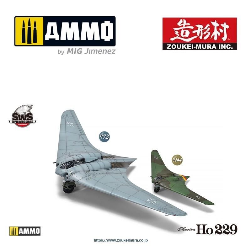 Horten Ho 229 Set - Zoukei Mura - Scale 1/72 - VOLKSWS7201-144