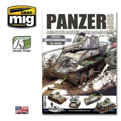 Panzer Aces #51 (Special Winter Camouflages - 96 Pages) English - PANZ-0051