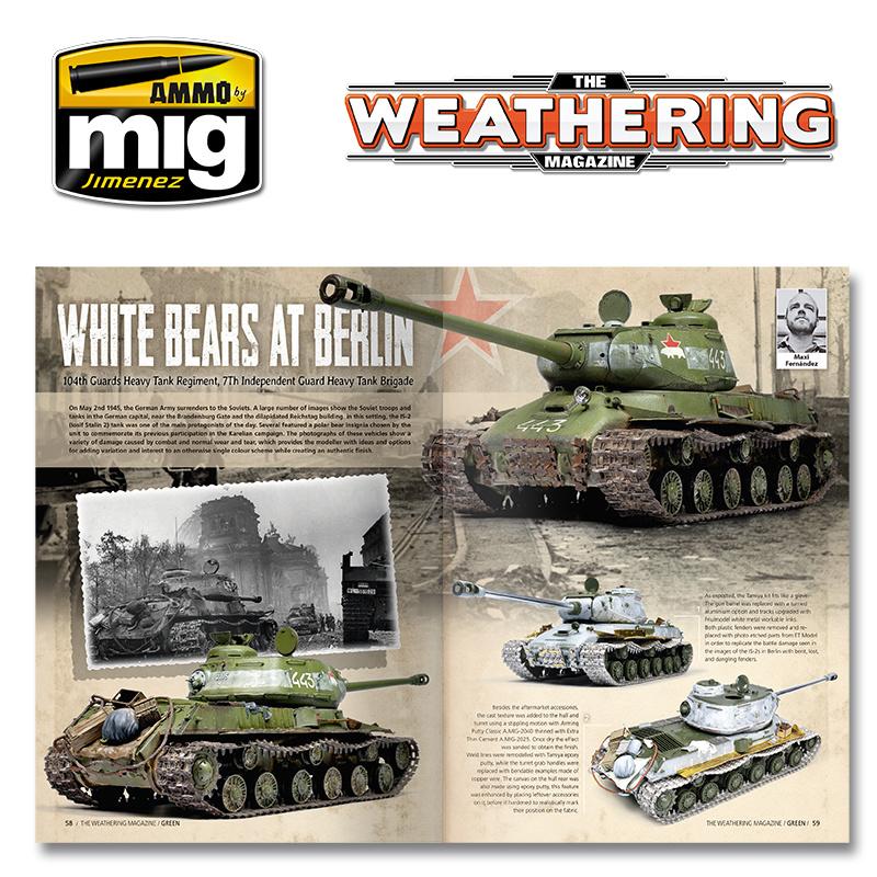 The Weathering Magazine The Weathering Magazine Issue 29. Green - English - A.MIG-4528 - Ammo by Mig-Jimenez