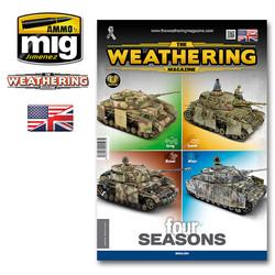 The Weathering Magazine Issue 28. Four Seasons - English - Ammo by Mig Jimenez - A. MIG-4527