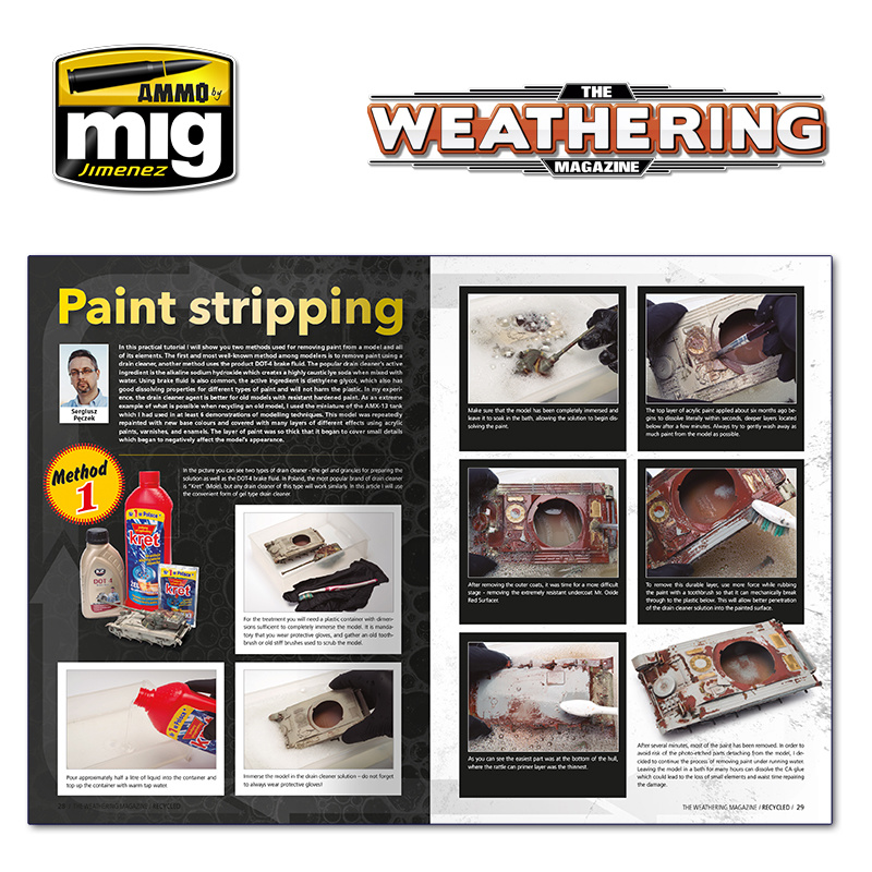 The Weathering Magazine The Weathering Magazine Issue 27. Recycled - English - Ammo by Mig Jimenez - A.MIG-4526