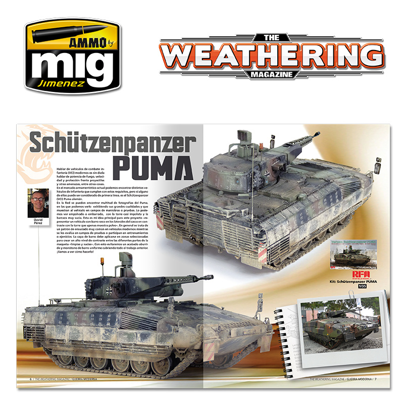 The Weathering Magazine The Weathering Magazine Issue 26. Modern Warfare - English - Ammpo by MIg Jimenez - A.MIG-4525