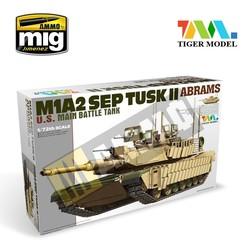 M1A2 Tusk II Abrams - Tiger Model - Scale 1/72 - TIGE9601
