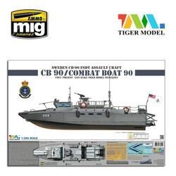 Sweden Cb-90 H Fast Assault Craft - Tiger Model - Scale 1/35 - TIGE6293