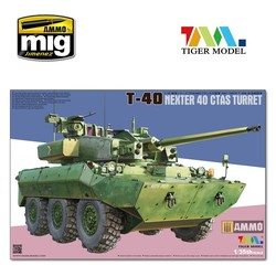 Nexter T40 Ifv - Tiger Model - Scale 1/35 - TIGE4665