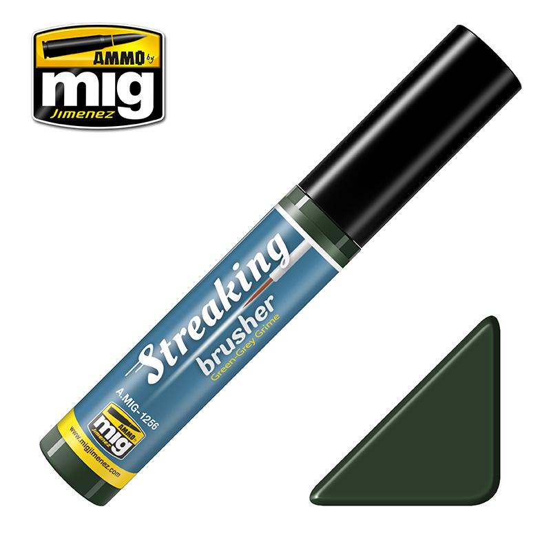 Ammo by Mig Jimenez Green-Grey Grime - 10ml - Ammo by Mig Jimenez - A.MIG-1256