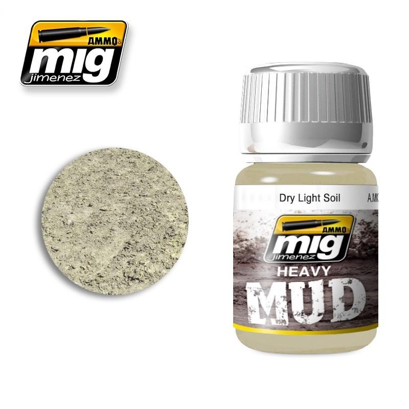 Ammo by Mig Jimenez Dry Light Soil - 35ml - Ammo by Mig Jimenez - A.MIG-1700