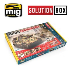 Solution Box 04 WWII German Late - Ammo by Mig Jimenez - A.MIG-7703