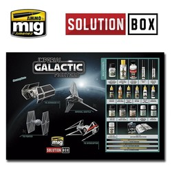 Solution Box 05 Imperial Galactic Fighters  - Ammo by Mig Jimenez - A.MIG-7720