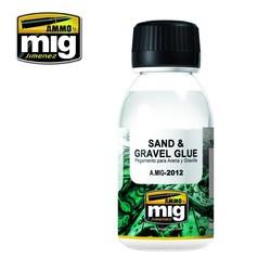 Sand & Gravel Glue - 100ml - Ammo by Mig Jimenez - A.MIG-2012