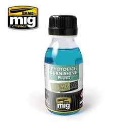 Photoetch Burnishing Fluid - 100ml - Ammo by Mig Jimenez - A.MIG-2021