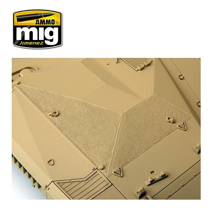 Ammo by Mig Jimenez Anti-Slip Paste - Sand Color For 1/35 - Ammo by Mig Jimenez - A.MIG-2033