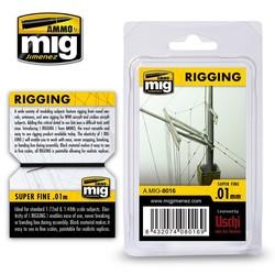 Rigging - Super Fine 0,01 Mm - Ammo by Mig Jimenez - A.MIG-8016