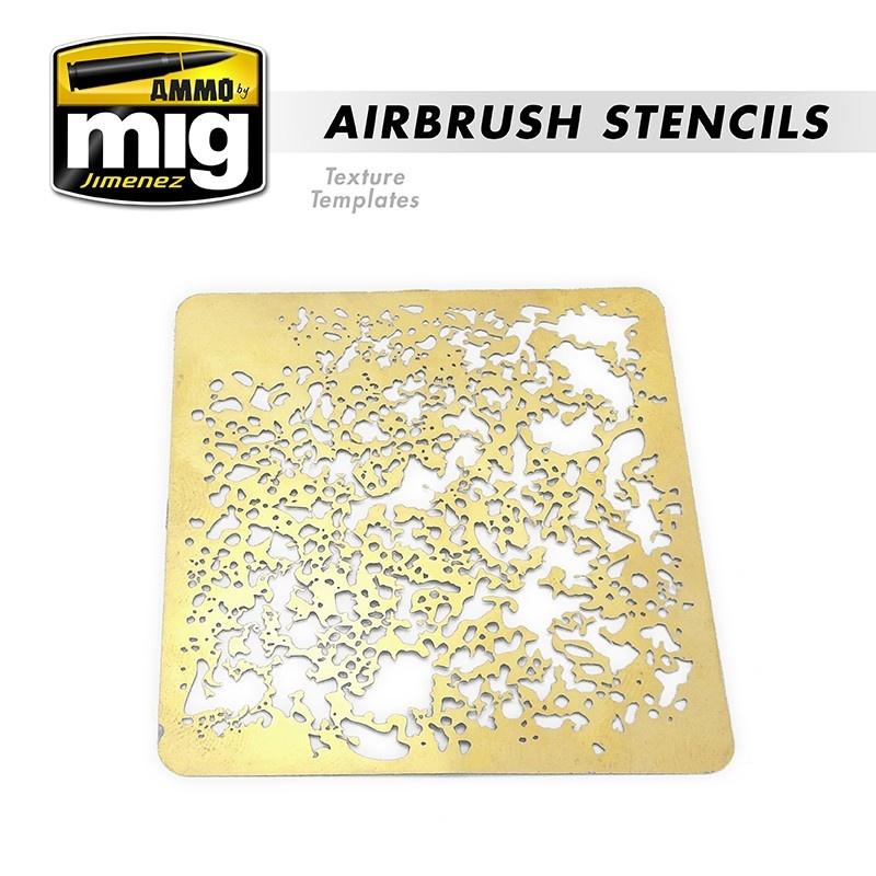 Ammo by Mig Jimenez Airbrush Stencils - Ammo by Mig Jimenez - A.MIG-8035
