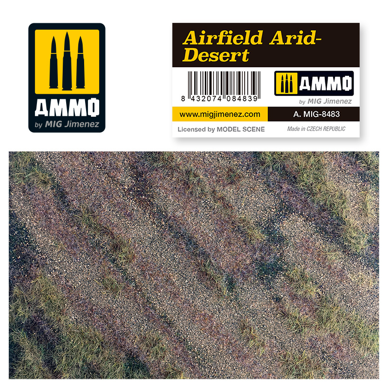 Ammo by Mig Jimenez Airfield Arid-Desert - Ammo by Mig Jimenez - A.MIG-8483