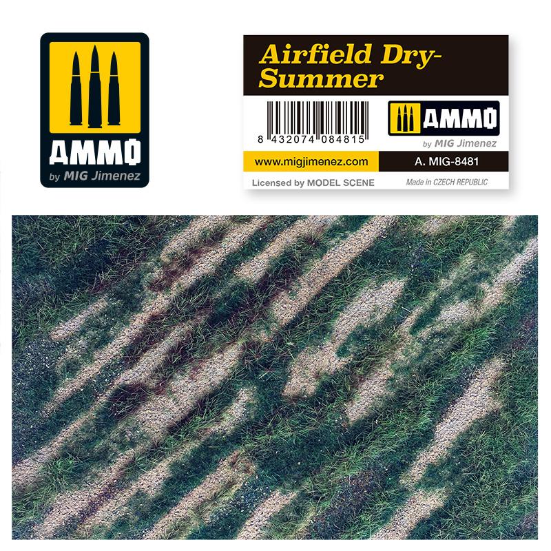 Ammo by Mig Jimenez Airfield Dry-Summer - Ammo by Mig Jimenez - A.MIG-8481