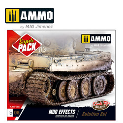 Super Pack 06 Mud Effects Solution Set - Ammo by Mig Jimenez - A.MIG-7807