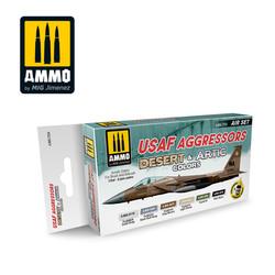 Usaf Aggressors. Desert & Artic Colors - Ammo by Mig Jimenez - A.MIG-7234