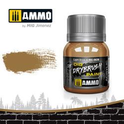 Drybrush Light Brick - 40ml - Ammo by Mig Jimenez - A.MIG-0626