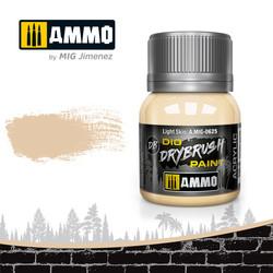 Drybrush Light Skin - 40ml - Ammo by Mig Jimenez - A.MIG-0625