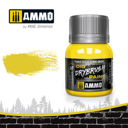 Drybrush Faded Yellow - 40ml - Ammo by Mig Jimenez - A.MIG-0624