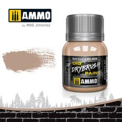 Drybrush Dark Sand - 40ml - Ammo by Mig Jimenez - A.MIG-0620