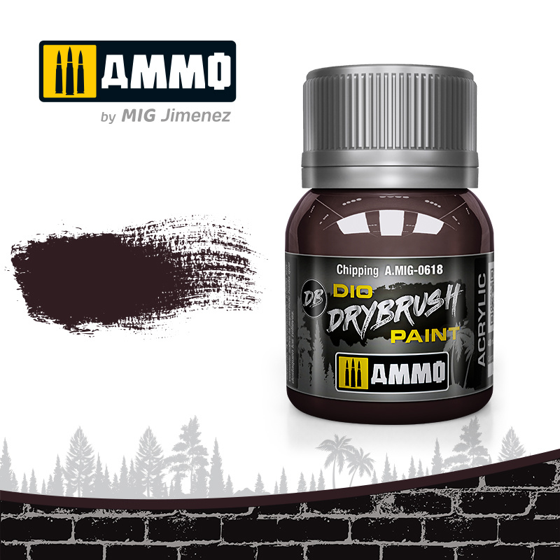 Ammo by Mig Jimenez Drybrush Chipping - 40ml - Ammo by Mig Jimenez - A.MIG-0618