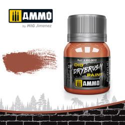Drybrush Rust - 40ml - Ammo by Mig Jimenez - A.MIG-0612