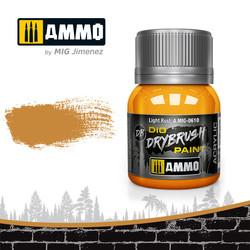 Drybrush Light Rust - 40ml - Ammo by Mig Jimenez - A.MIG-0610