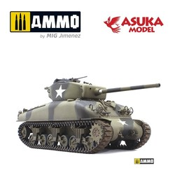M4A176Mm Sherman - Scale 1/35 - Asuka - ASUKA35047