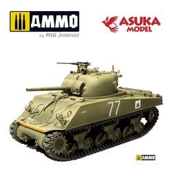 Sherman M4A3 Cougar - Scale 1/35 - Asuka - ASUKA35046
