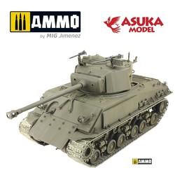 M4A3E8 Sherman Thunderbolt Vii - Scale 1/35 - Asuka - ASUKA35040