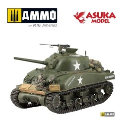 M4 Composite Sherman China Clipper - Scale 1/35 - Asuka - ASUKA35034