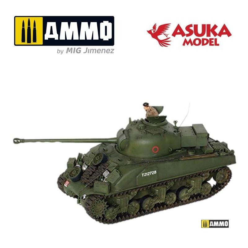 Asuka British Sherman Ic Firefly - Scale 1/35 - Asuka - ASUKA35028