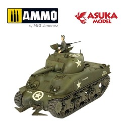 M4A1 Sherman Hedgerow - Scale 1/35 - Asuka - ASUKA35022