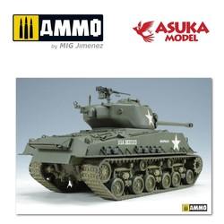 US M4A3E8 Sherman - Scale 1/35 - Asuka - ASUKA35020