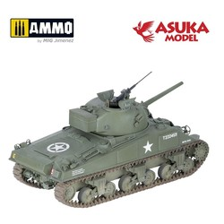 British Sherman M4A4 - Scale 1/35 - Asuka - ASUKA35016
