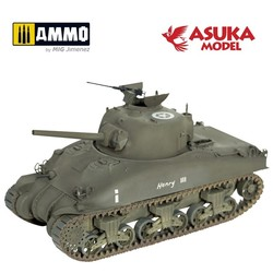 M4A1 Sherman Mid Production - Scale 1/35 - Asuka - ASUKA35010