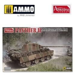 Panther Ii Rheinmetall Turret - Scale 1/35 - Amusing Hobby - AH35A040