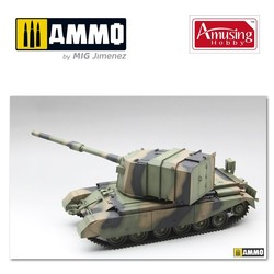 Fv4005 Stage 2 Spg - Scale 1/35 - Amusing Hobby - AH35A029