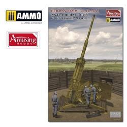 8,8Cm L/71 Flak41 (W/Bonus) - Scale 1/35 - Amusing Hobby - AH35A024
