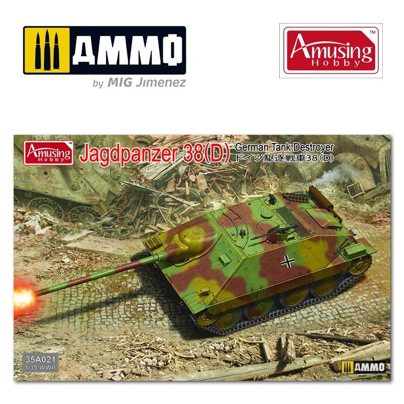 Amusing Hobby Jagdpanzer 38D - Scale 1/35 - Amusing Hobby - AH35A021