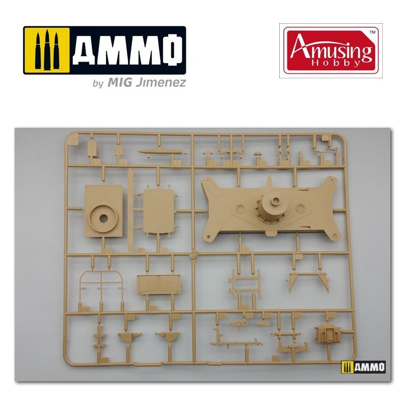 Amusing Hobby 12,8Cm Flak40 With Fumg 39D - Scale 1/35 - Amusing Hobby - AH35A020