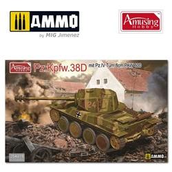 Panzer 38D Mit Pz.Iv Turm Und 8Cm Paw600 - Scale 1/35 - Amusing Hobby - AH35A019