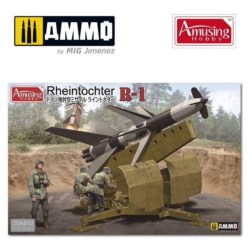 Amusing Hobby Flarak Rheintochter R1 - Scale 1/35 - Amusing Hobby - AH35A010